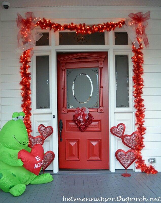 Valentines Outside Decor Valentine Decorations Valentines Day