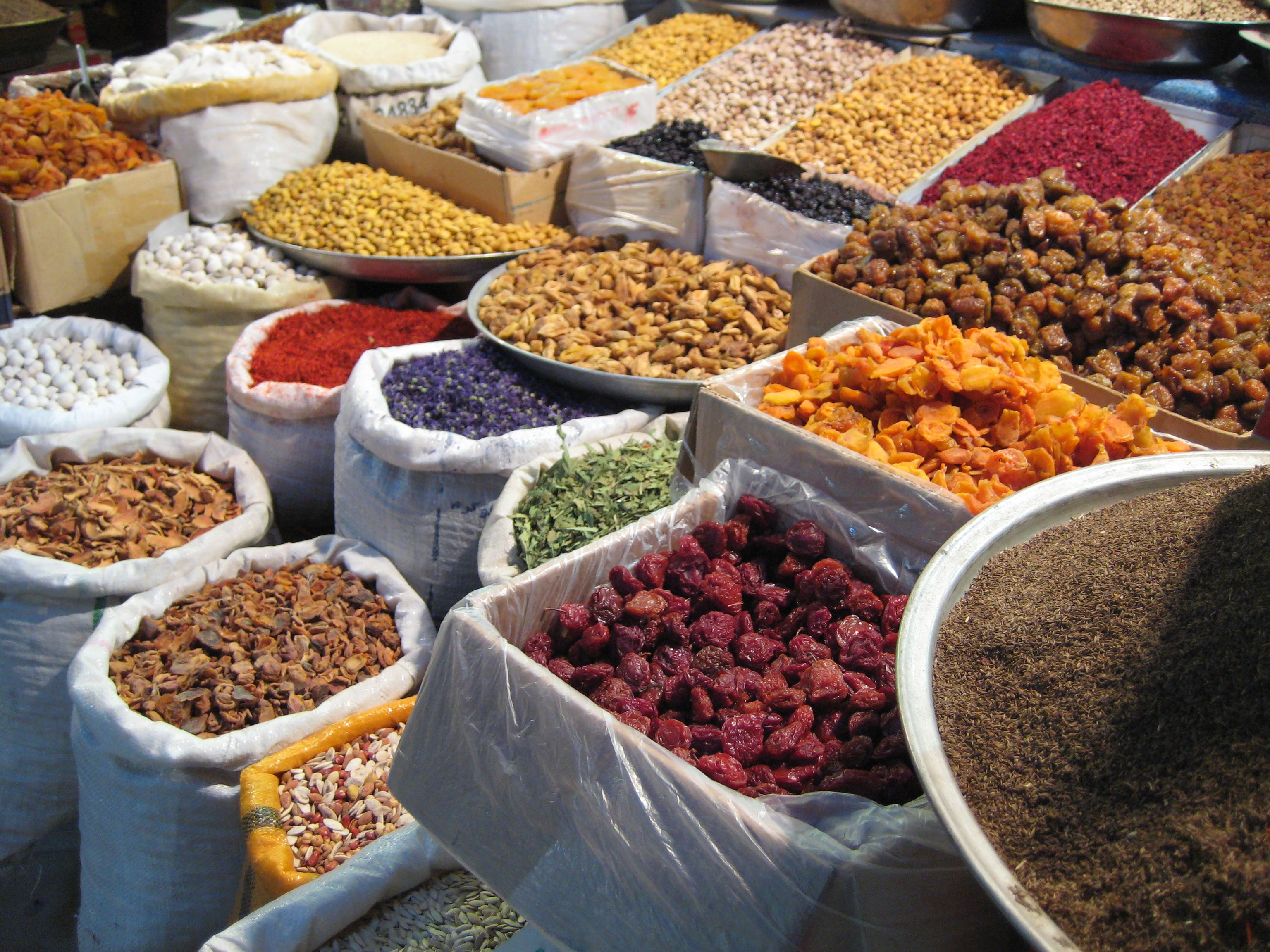 Bazar Of Kerman Street Food Food Dog Food Recipes