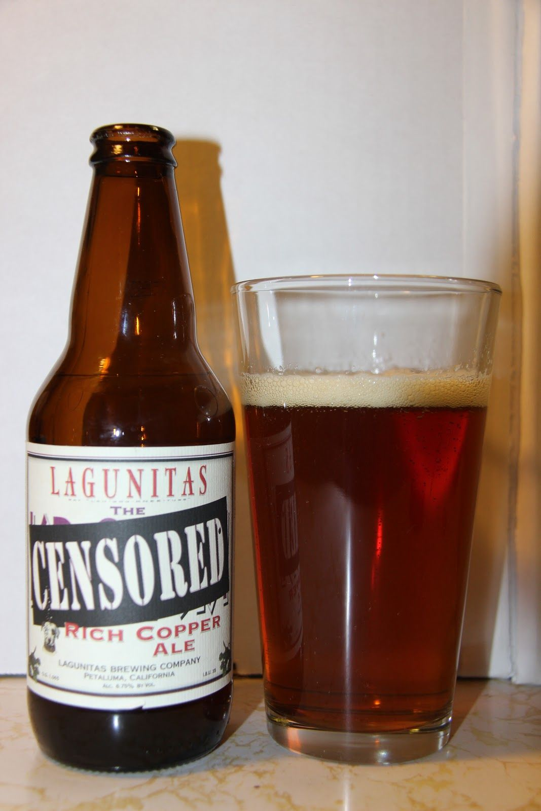 Down The Hatch: Lagunitas Brewing Company's Censored Rich Copper Ale