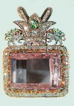 Le Diamant Daria E Nour Ou Quot Mer De Lumi 232 Re Quot 182 Carats