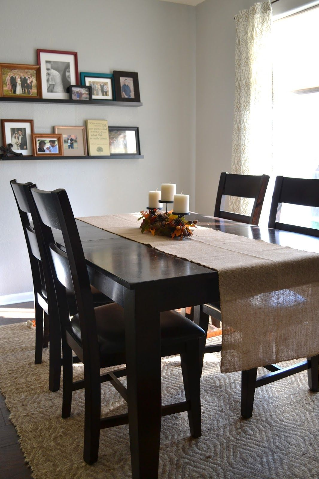 hobby lobby table and chairs revolving chair indiamart easy updates for fall burlap runner i like their set
