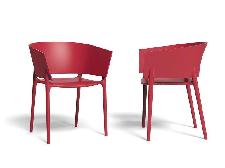 Gartenstuhl design  Gartenstuhl mit Armlehnen AFRICA by VONDOM Design Eugeni Quitllet ...