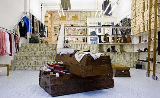Folk Clothing stores by IYA Studio
