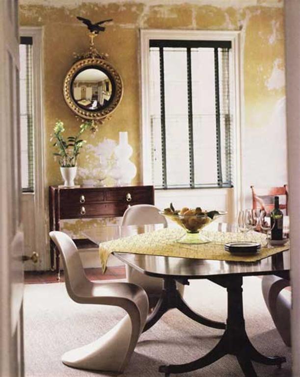 Interior Design, Modern Vintage Decor: Modern Vintage dinningroom Decor ~ vintage modern design, modern vintage decor, Interior Design ~ Nethomedesign.com