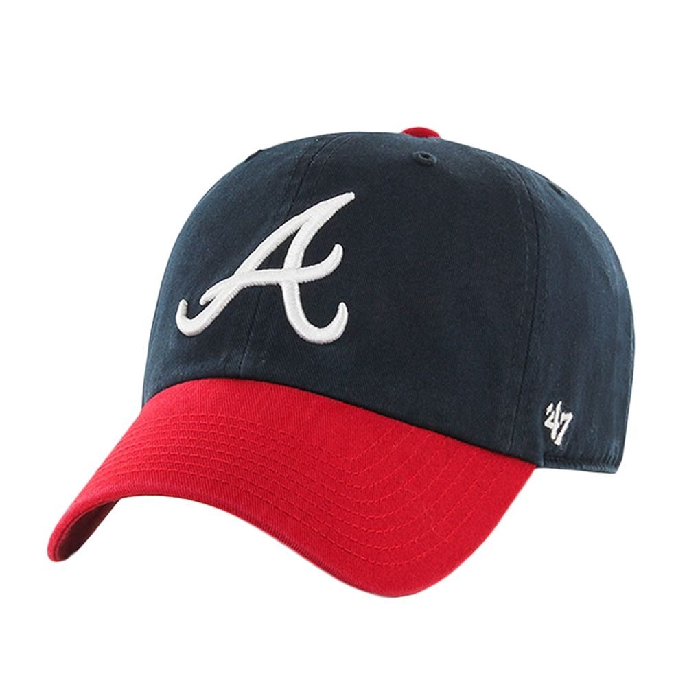 Atlanta Braves Logo Home Clean Up Adjustable Baseball Cap Oldglory Com Youth Hats Atlanta Braves Logo Atlanta Braves Hat
