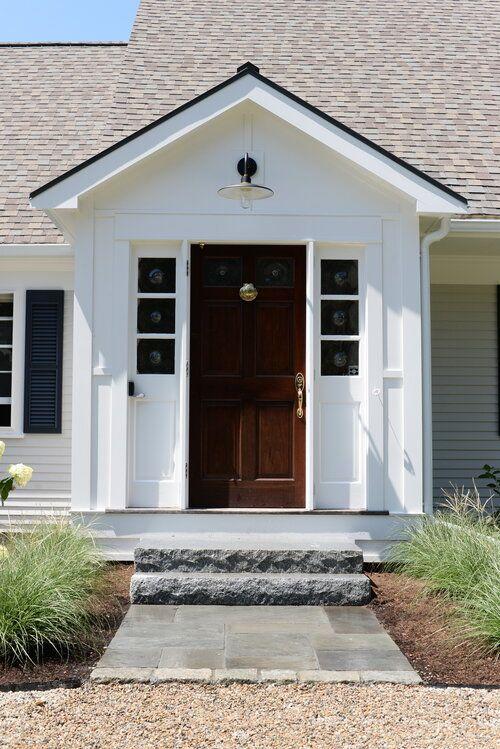Enclosed Portico Entry