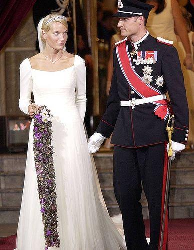 Crown Prince Haakon and Crown Princess Mette-Marit of