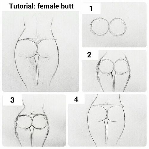 Butt Drawings 84