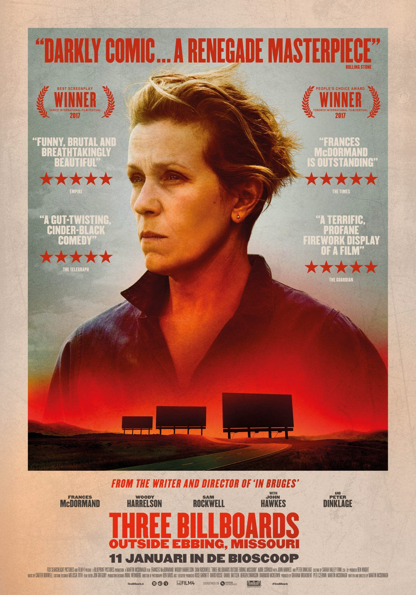 Absolutely brilliant - funny, sad, poignant, bad, epic, best I've seen in a while. Definite Oscar contender.