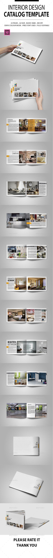 Interior Design Catalog Design Template - Catalogs Brochure template ...