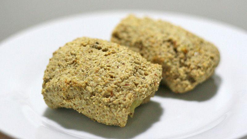 Biscoito de Amendoim Recheado de Doce de Banana
