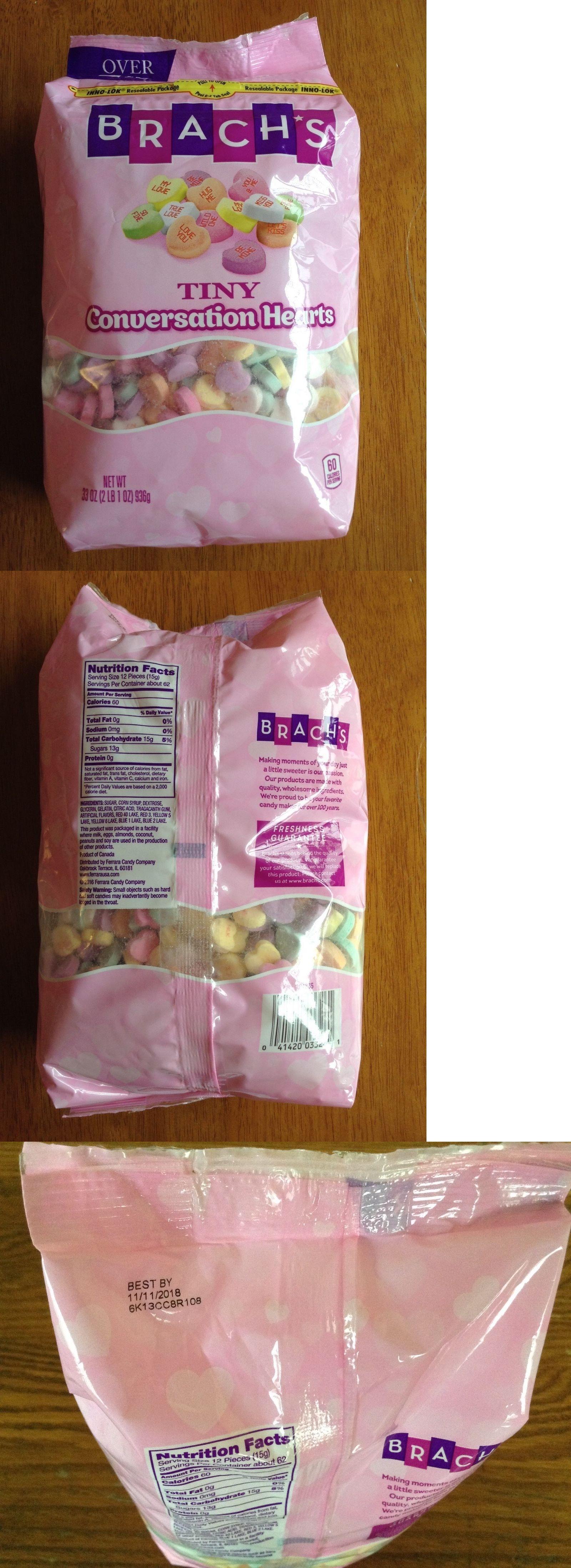 Seasonal Candy 38177: Brach S Big Bag Tiny Conversation Candy Hearts 33 Oz 2 Lbs Wedding Love -> BUY IT NOW ONLY: $34.99 on eBay!
