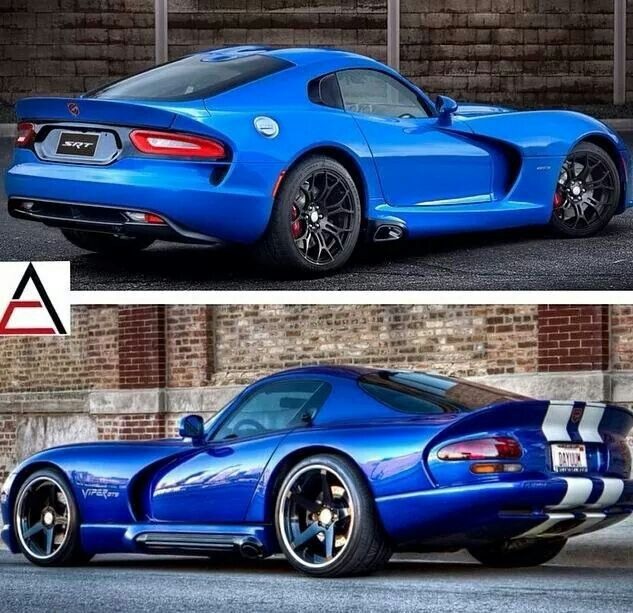 New & Old Viper #dodge #viper #sportscars #dreamcars ...