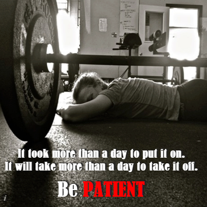 Be Patient Quotes Quote Fitness Workout Patience Motivation Patient Exercise  Motivate Workout Motivation Exercise Motivation Fitness