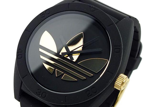 Adidas ADIDAS Santiago reloj 19997 ADH2712 oro negro Santiago X oro hombres | 548e1b5 - hvorvikankobe.website