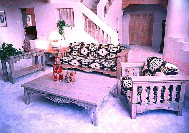 Southwestern Living Room Set Aurora | Furniture and Decor ...