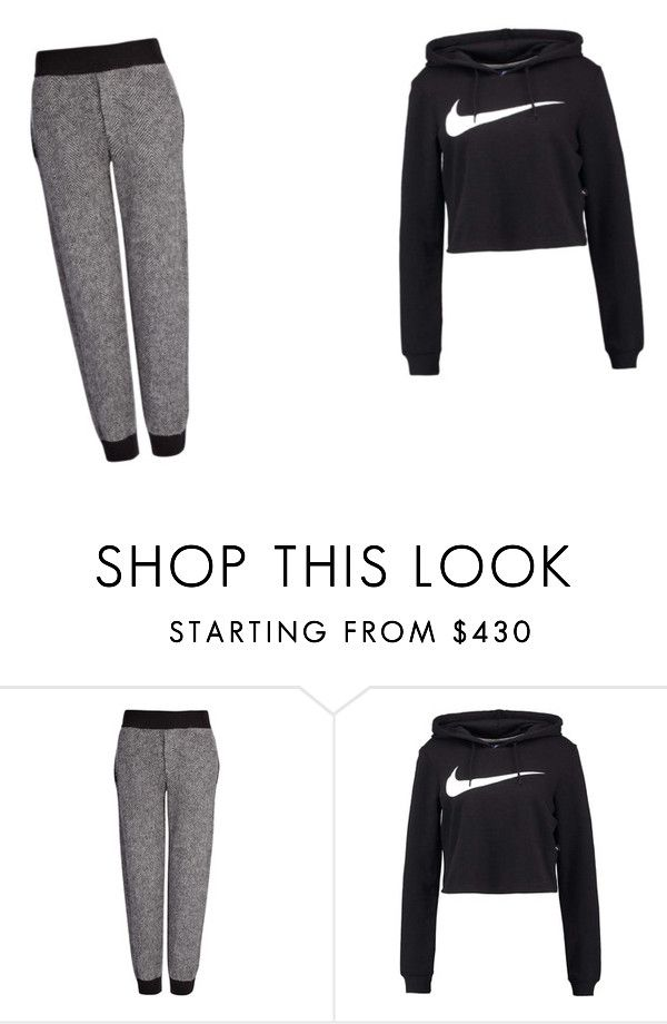 """Lazy day"" by emtrevo ❤ liked on Polyvore featuring Joseph and NIKE"