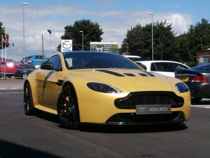 Used 2014 Reg Yellow Tang Aston Martin Vantage S For Sale On Rac
