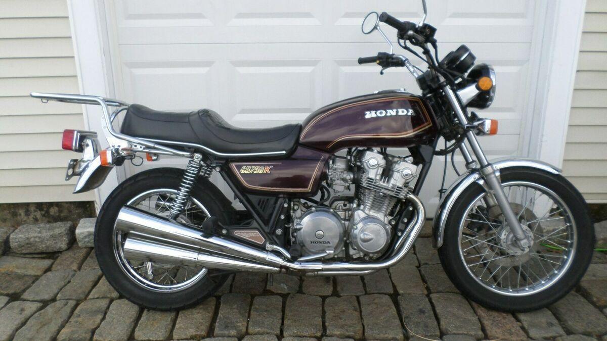 1981 Honda Cb750 K Classics Motorcycle For Sale Via Rocker Rocker Co Brat Bike Vintage Honda Motorcycles Honda Cb750 [ 675 x 1200 Pixel ]