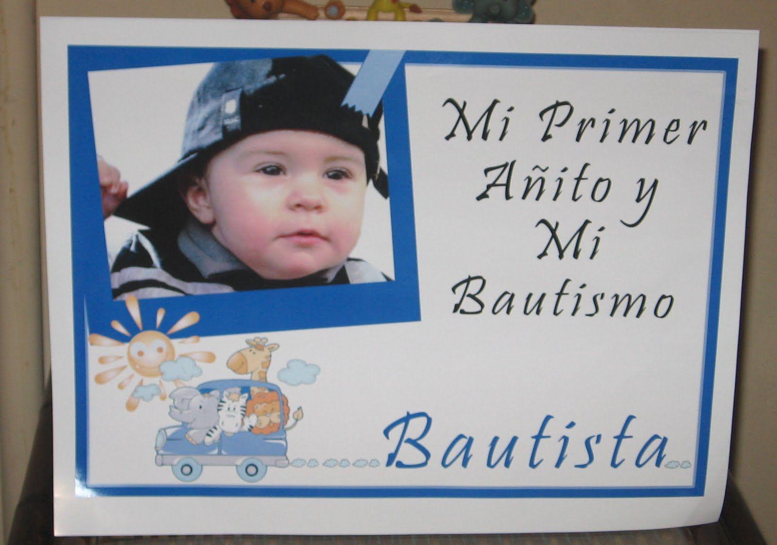 Tarjetas De Invitacion Bautismo Y Primer Añito Para Fondo De