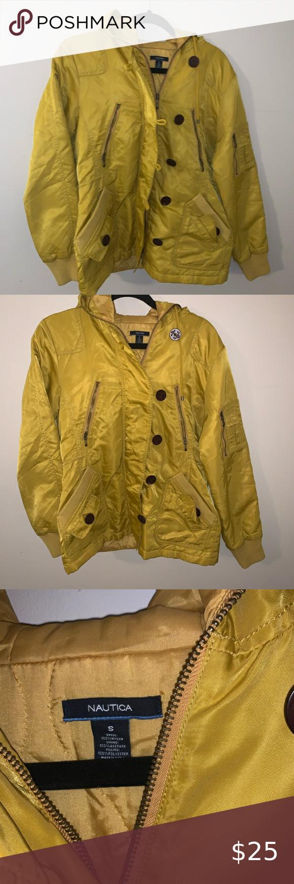 2 15 Nautica Yellow Bomber Outerwear Jacket Outerwear Jackets Jackets Outerwear [ 1740 x 580 Pixel ]