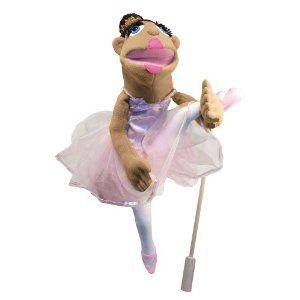 Melissa & Doug Deluxe, Tina Prima,  Full-Body Ballerina Puppet