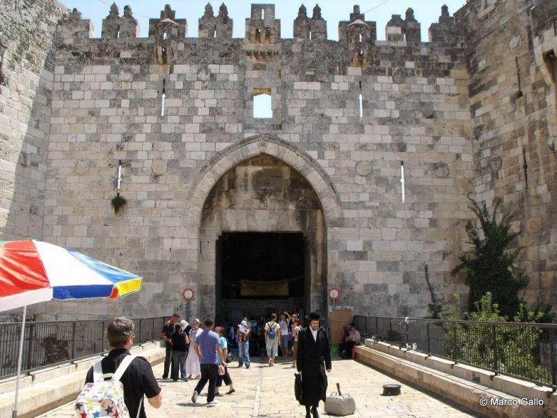 Puerta de Damasco, Jerusalem | Turismo en Israel | Pinterest ...