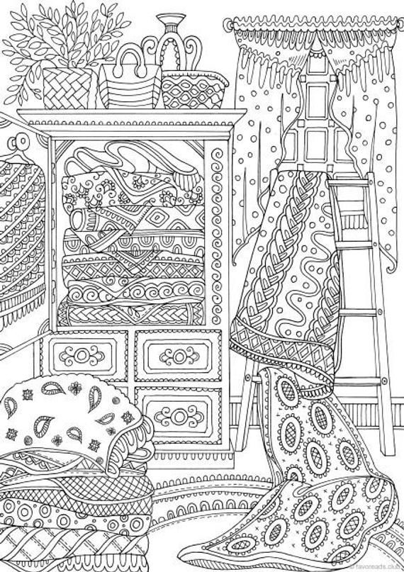 Country Quilts  Printable Adult Coloring Page from Favoreads (Coloring book pages for adults and kids, Coloring sheets, Coloring designs) is part of Printable adult coloring pages, Coloring book pages, Printable adult coloring, Coloring pages, Coloring books, Adult coloring pages - favoreads