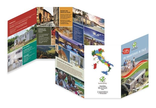 tri fold 6 panel travel brochure brochure design portfolio