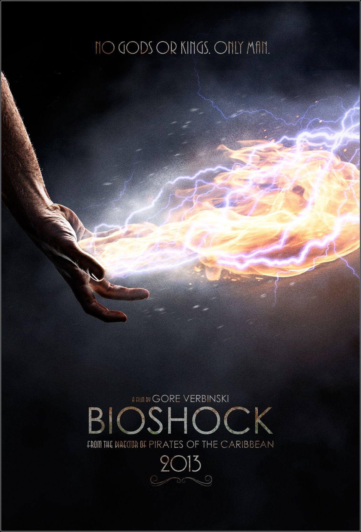 BIOSHOCK - These Fan Made Movie Posters Bring You to Rapture - News - GameTyrant