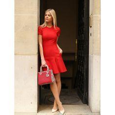 Lala Rudge em shooting feito pela Hype 011 em seu primeiro #PFW look Dior