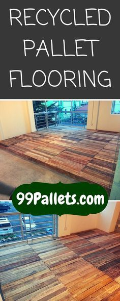 Recycled pallet flooring diy pallet floors pallets and pallet recycled pallet flooring diy solutioingenieria Image collections