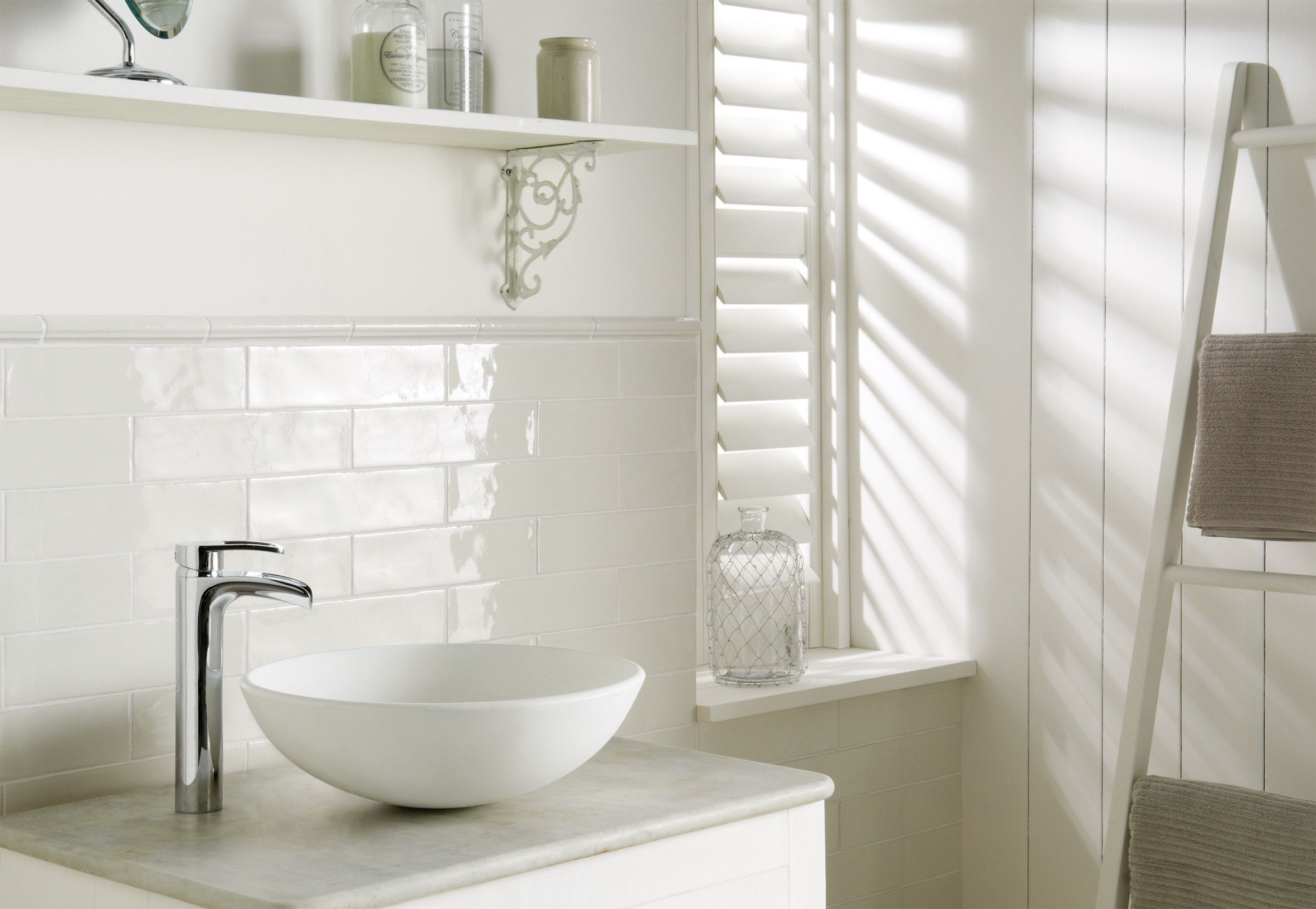 Available from Welby & Wright. The long brick shape of these white ...