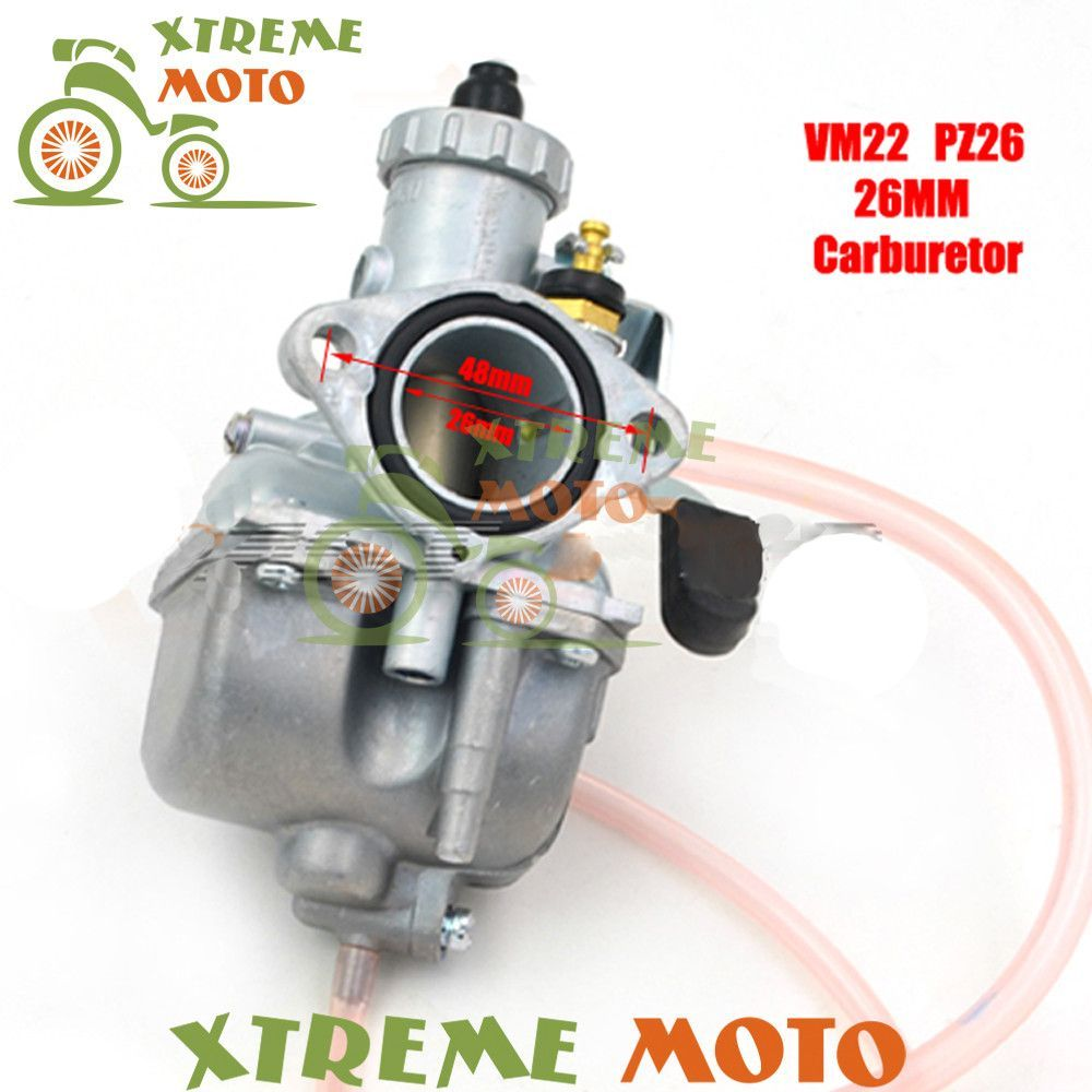 Mikuni High Performance VM22 PZ26 26mm Carburetor Carb For Motorcycle Dirt Pit Bike ATV QUAD 110cc 125cc140cc Motocross