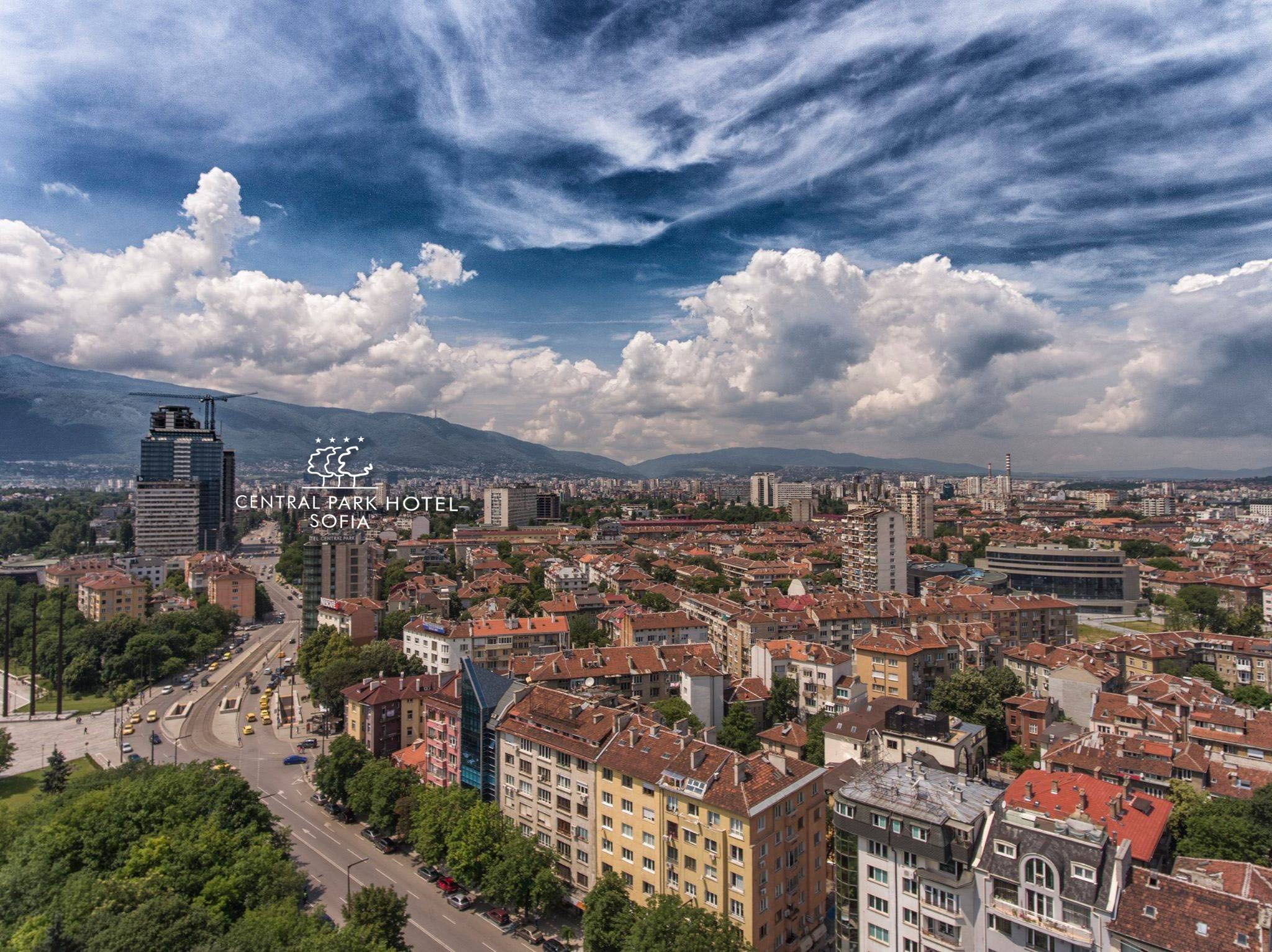 Central Park Hotel From Above Mood Bulgaria Bulgarian