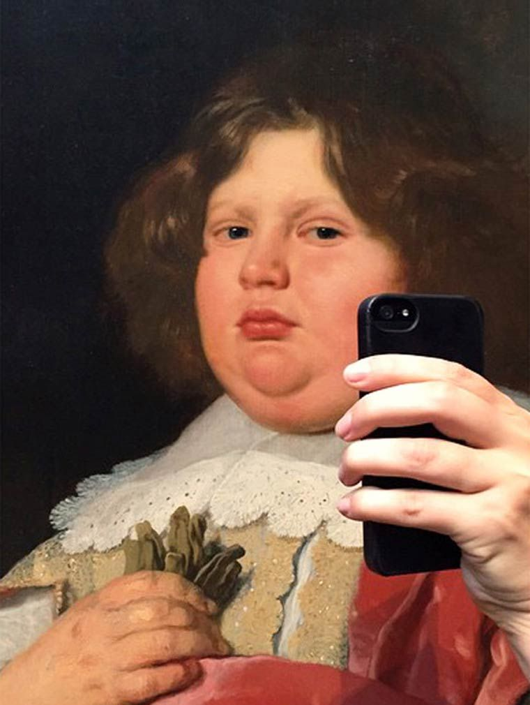 Museum of Selfie – A modern approach to classical painting