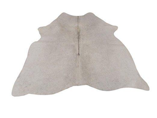 premium s damerikanisches kuh fell sch nes reiche kleine leicht grau muster teppich ca 130. Black Bedroom Furniture Sets. Home Design Ideas