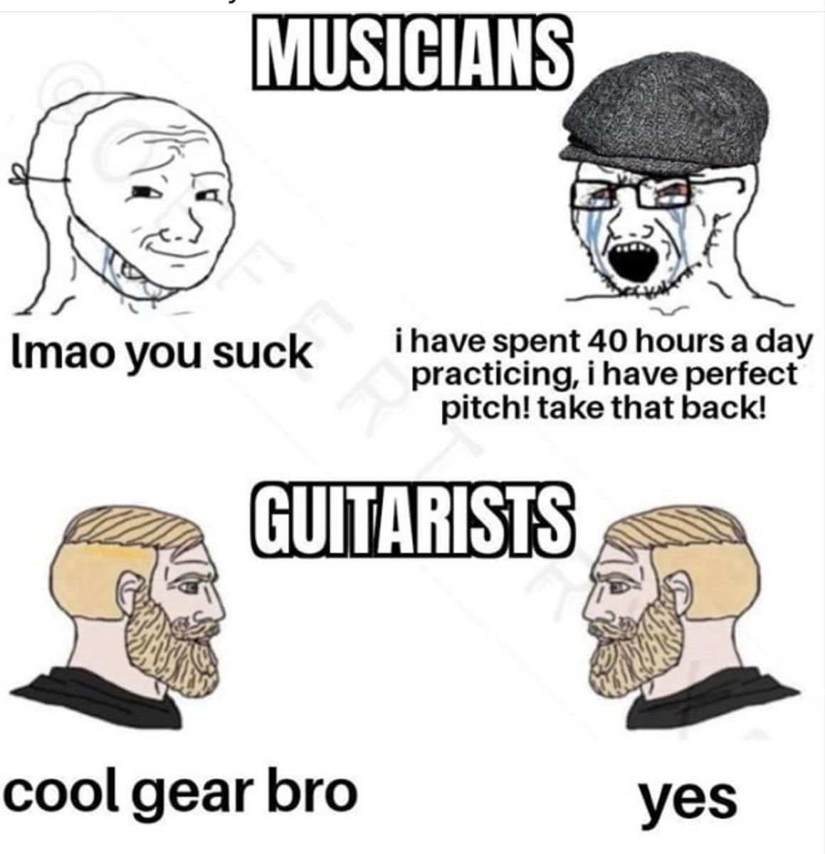 Guitarists vs. Musicians in 2020 Cool gear, Guitarist