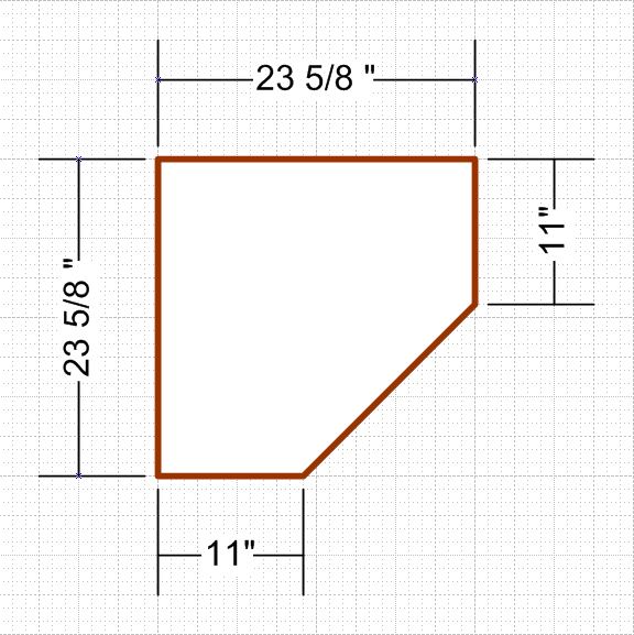 Dimensions Of An IKEA Billy Corner Bookcase