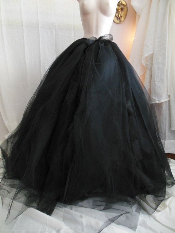 Long Tulle Skirt, Formal Skirt, Skirt with Corset, Ball Gown Skirt ...