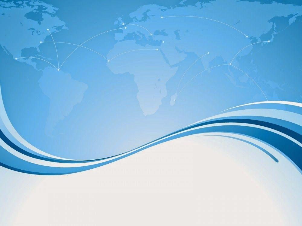 Elegan Blue Powerpoint Background  Annaba    Template