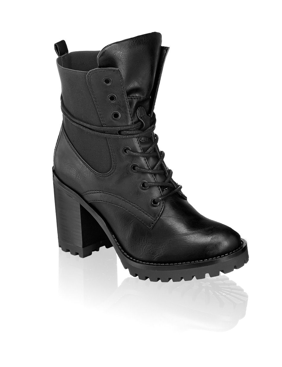 HUMANIC - Funky Shoes Lace Up - http://bit.ly/1vNHfQD