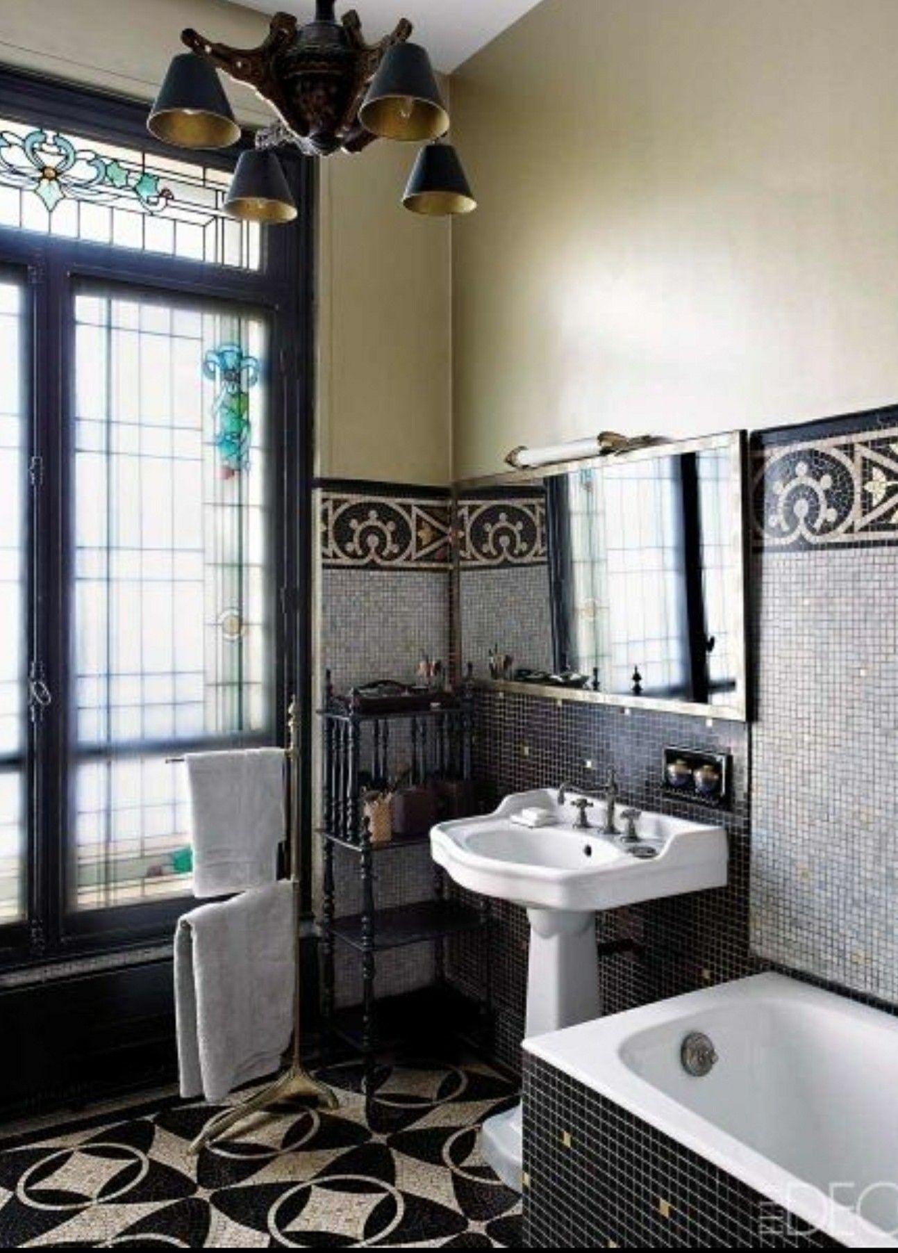 Salle De Bain Victorienne ~  pingl par sharon burns sur bathrooms pinterest le dimanche en