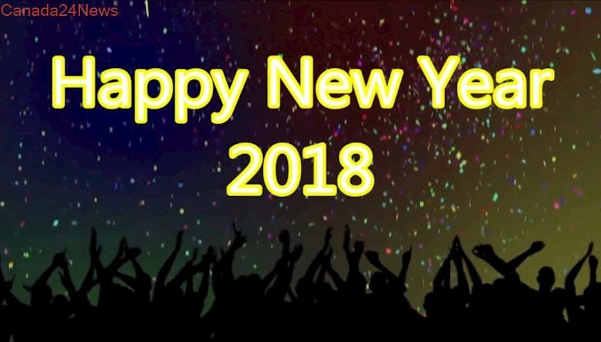 Happy New Year 2018 Gif Animated Image HD Wallpapers Photos Pics Wishes In English