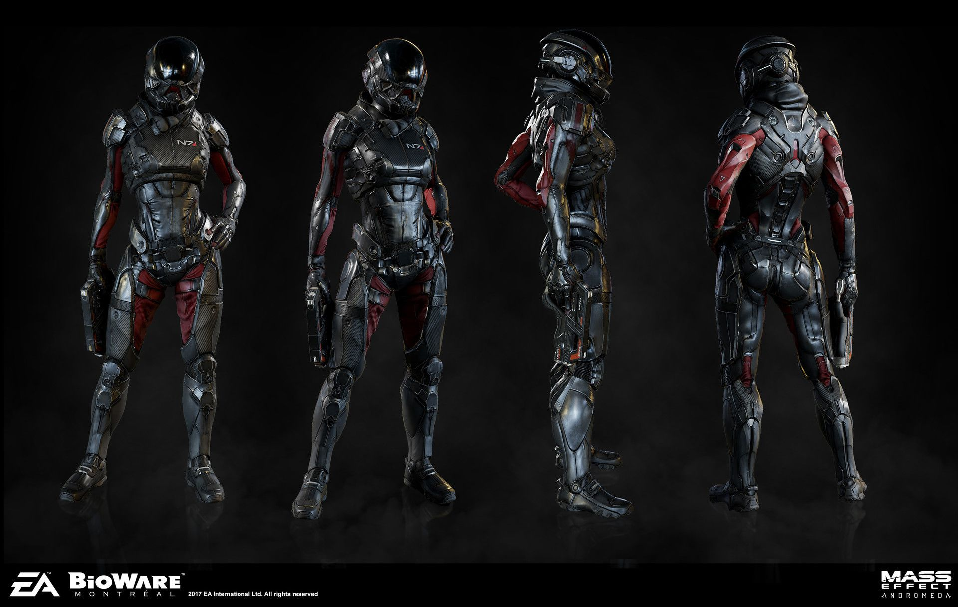 The Art Of Mass Effect Andromeda Costumes Pinterest Mass