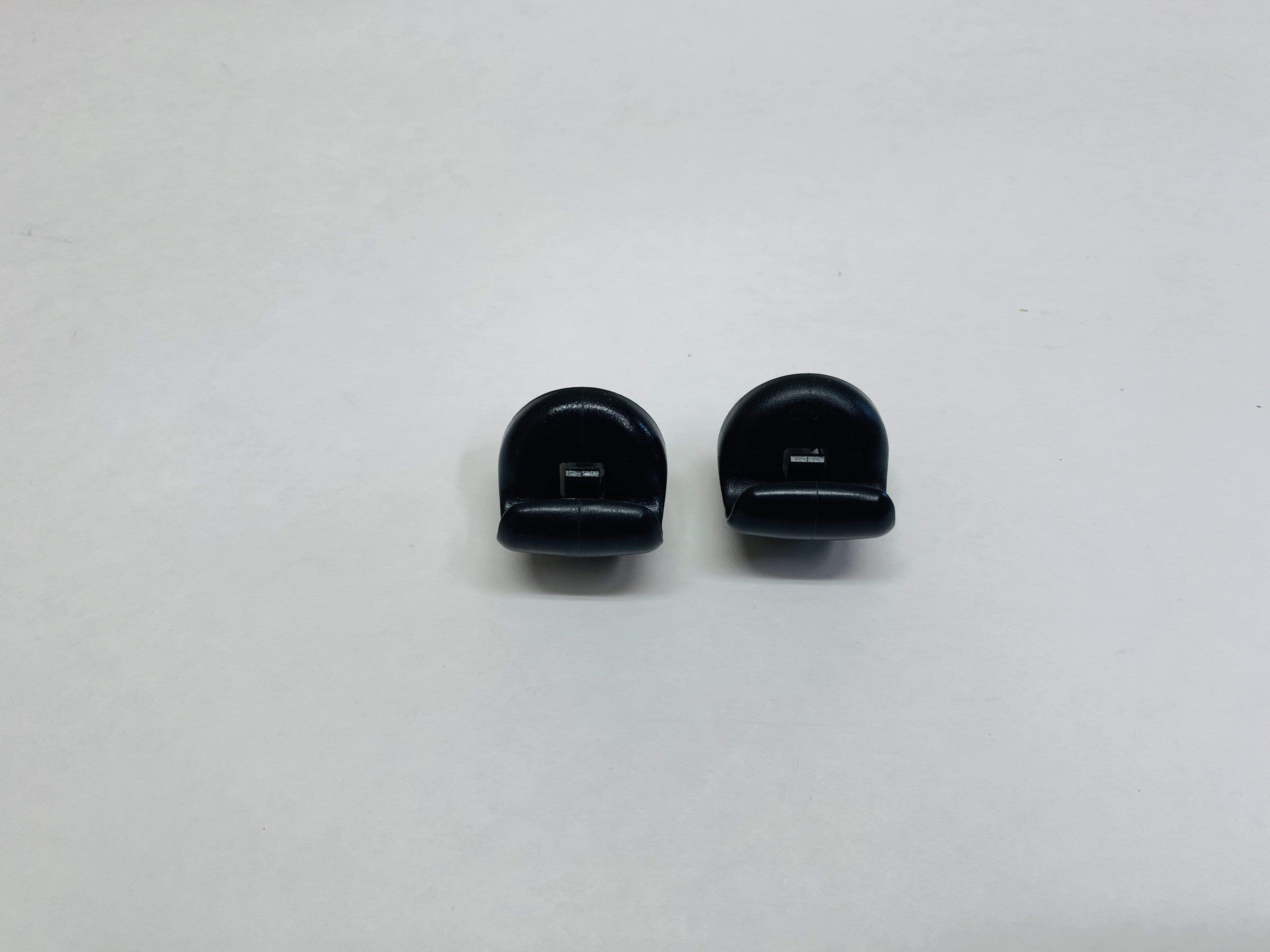 (2) 20042009 Nissan 350Z Black Sun Visor Retainer Clips
