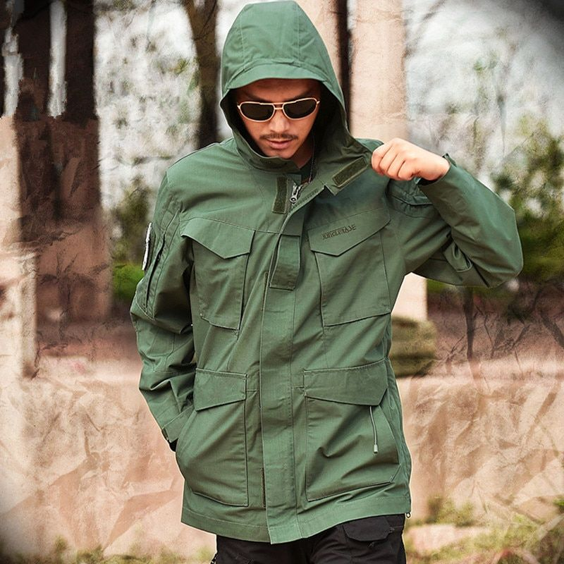 Mege Brand M65 Military Camouflage Male Clothing Us Army Tactical Mens Windbreaker Hoodie Field Jacket Outwear Casaco Masculino Buy One Get One Free Men's Clothing