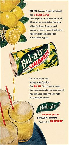 Retro Rock with lemonade