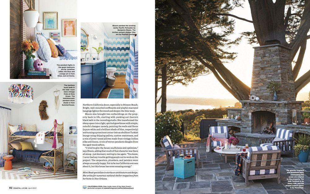 Coastal Living Magazine, April 2017 — dehn bloom