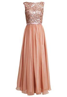 Ballkleid - apricot | Hochzeitsfeier kleider, Damen ...